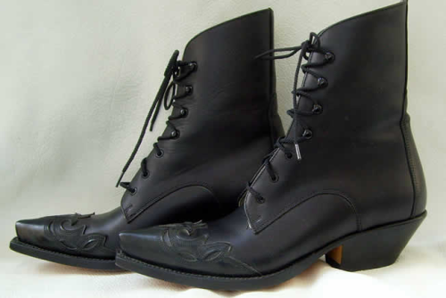"Damen Schnürboots "" Quincy Black """