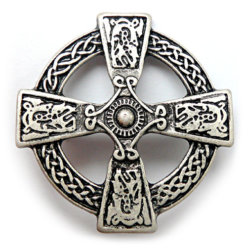 "Modell ""Scottland "" Scotish Cross Silber oder Messing"