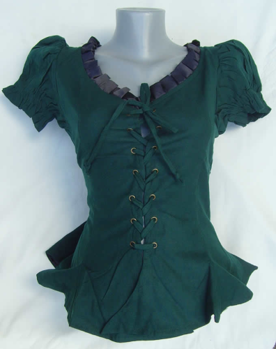 "Mieder Bluse "" Elie Green """