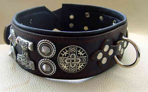 "Halsband XXl Model "" Gustav No.1 "" 6,5 cm breit"