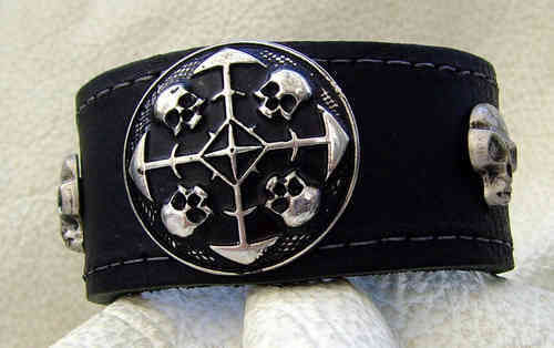 Armband Circles of Skull No.34
