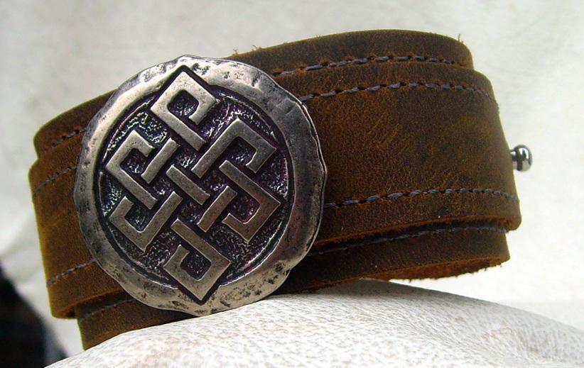 lederarmband viking knoten viele farben lieferbar wickelarmband. Black Bedroom Furniture Sets. Home Design Ideas
