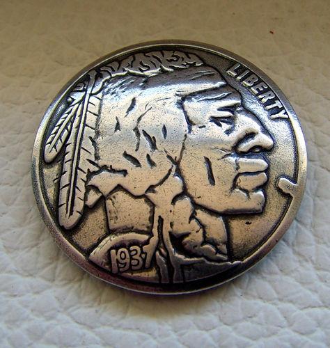 Half Dolar Münze Auffällige Ziernieten Beschlag Farbe Altsilber  Zum Schrauben